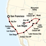 AASU Student Travel Canyon Country & Coasts – Las Vegas to San Francisco for Armstrong Atlantic State University Students in Savannah, GA