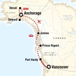 AASU Student Travel Vancouver & Alaska by Ferry & Rail for Armstrong Atlantic State University Students in Savannah, GA