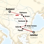 Mercer Student Travel Budapest to Istanbul by Rail for Mercer University Students in Macon, GA