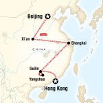 AASU Student Travel Beijing to Hong Kong Express for Armstrong Atlantic State University Students in Savannah, GA