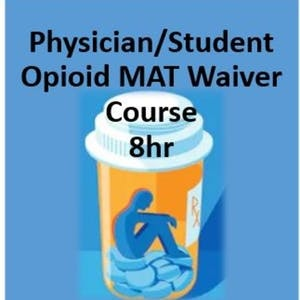 Stanford Online Courses Physician/Student Opioid Use Disorder Medication Assisted Treatment Waiver Training for Stanford University Students in Stanford, CA