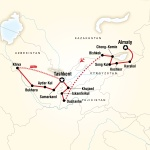 YCP Student Travel Central Asia – Multi-Stan Adventure for York College of Pennsylvania Students in York, PA
