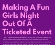 CUNY BMCC News Making A Fun Girls' Night Out Of A Ticketed Event for Borough of Manhattan Community College Students in New York, NY
