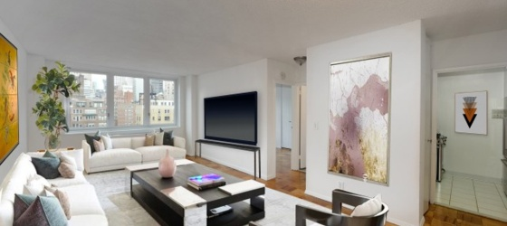 New York Housing NO FEE! Murray Hill Super Spacious 1 Bed/Flex 2 w/Stainless Kitchen, 24 Hr Doorman & Roof Deck. OPEN HOUSE THUR 12:30-5 & SAT/SUN 11-2 BY APPT ONLY for New York Students in New York, NY