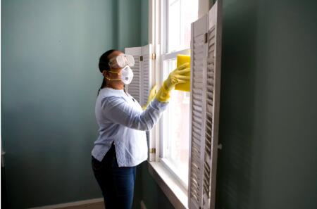 cleaning your rental property between tenants